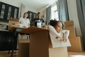 It's important that you include your kids in the unpacking process to make it easier.